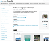 Nature of Geographic Information Systems
