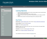 21st Century Workplace Skills: Lesson 3 Decision Making