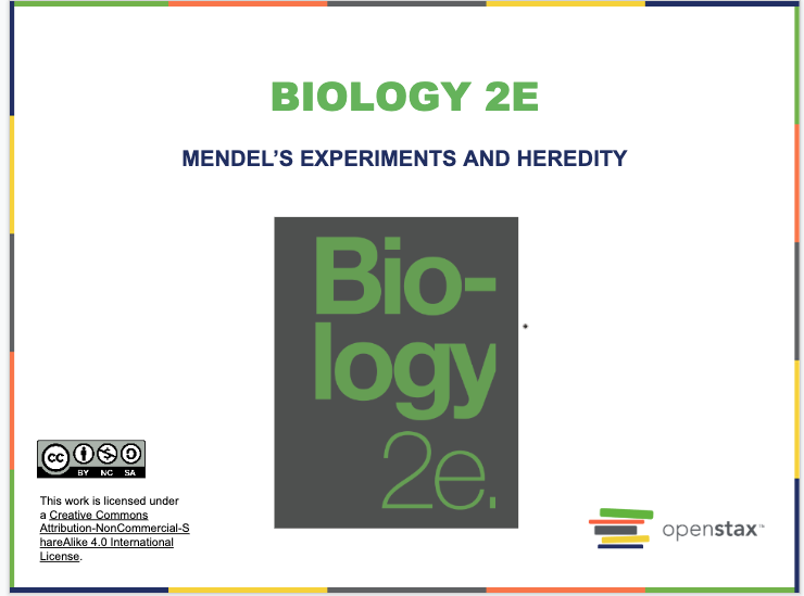 Mendel's Experiments and Heredity Resources