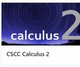 MATH 1152 CSCC Calculus 2