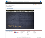Creating the Bill of Rights Interactive