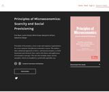 Principles of Microeconomics: Scarcity and Social Provisioning