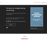 The Word on College Reading and Writing