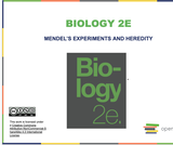Biology I Course Content, Mendel's Experiments and Heredity, Mendel's Experiments and Heredity Resources