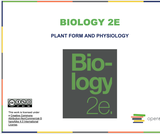 Biology II Course Content, Plant Form and Physiology, Plant Form and Physiology Resources