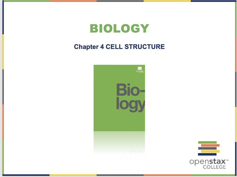 Cell Structure Resources