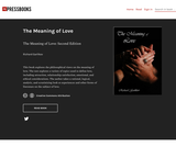 The Meaning of Love: Second Edition