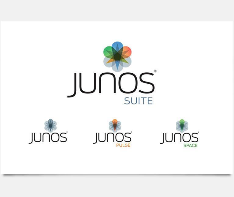 Brand Relaunch Juniper Networks_Junos Logo Redesign