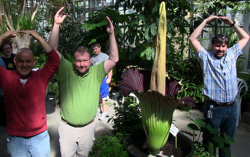 O H I O Ohio Corpse Flower