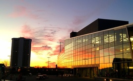 Sunset at RPAC