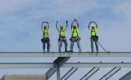 Topping Out at Ohio State Marion 8-24-16