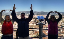 Top of the Duomo, Florence, Italy