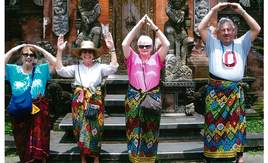 Buckeyes in Bali