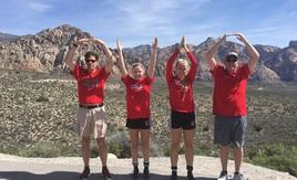 O-H-I-O Red Rock Canyon - Nevada