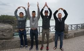 Team Handball Club Alumni at Niagara Falls