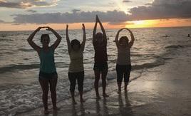 Buckeyes at Bonita Beach, FL