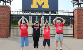 O-H-I-O at Michigan Stadium