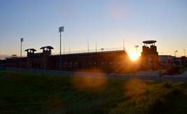 Sunrise Over Jesse Owens Memorial Stadium