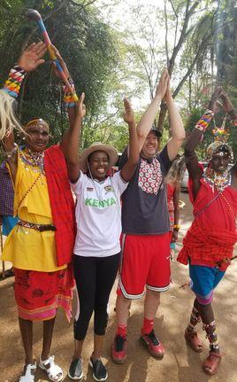 Masai tribe in Kenya