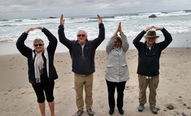 O-H-I-O on the Oregon Coast