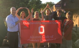 Cleveland Alumni Club celebrates scholarship recipients