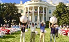 O-H-I-O at the Whitehouse 2014