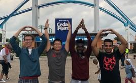 Buckeyes at Cedar Point
