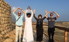 ASOM research team in Oman