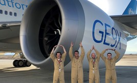 GE Aviation GE9X Engine O-H-I-O