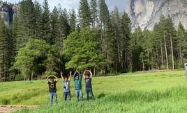 O-H-I-O at Yosemite National Park