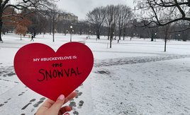 Bundle up, Buckeyes! ❄️ ☃️#BuckeyeLove #MyOhioState https://t.co/eLjFSH5H8Q