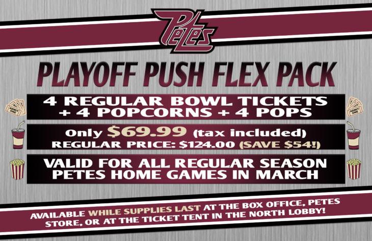 Playoff Push Flex Pack 2018 8.5x5.5 poster