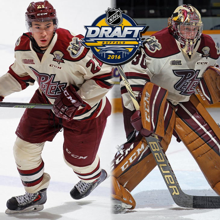 Dylan Wells and Jonathan Ang are getting ready for the 2016 NHL Entry Draft.