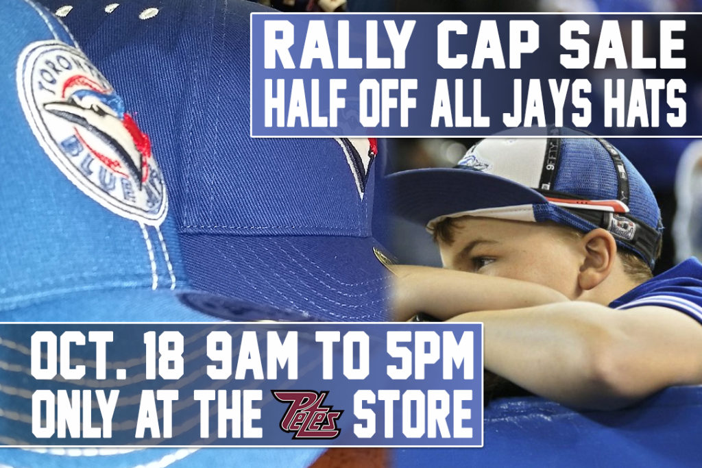 lowest price 70555 6563f Rally Cap Sale – Half Off All Toronto Blue Jays Hats ...