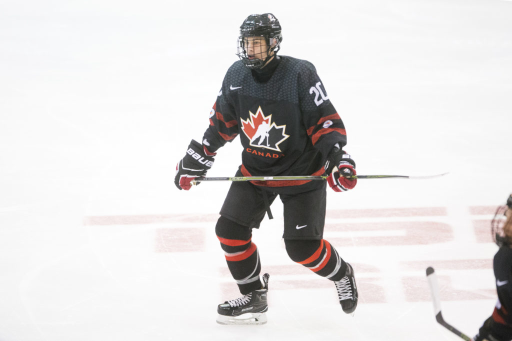 Declan Chisholm Added To Canada S 2019 National Junior Team Summer