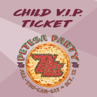 VIP Child Petesa Party Ticket (square)