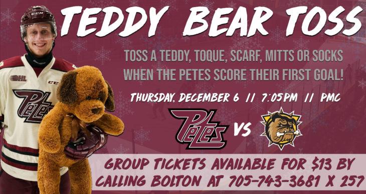 Teddy Bear Toss 2018 - Twitter