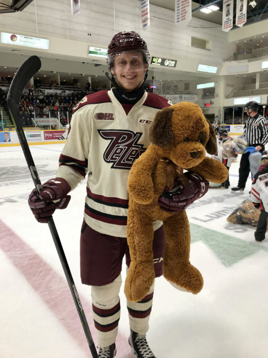 Dec. 7 Paquette with Bear