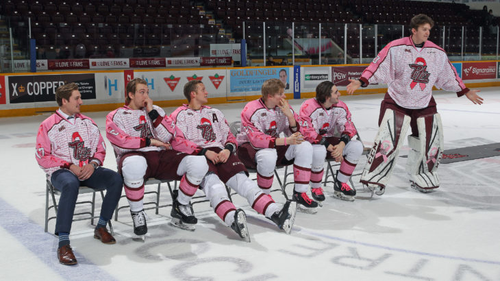 Feb. 2 Auction Boys Pink in the Rink