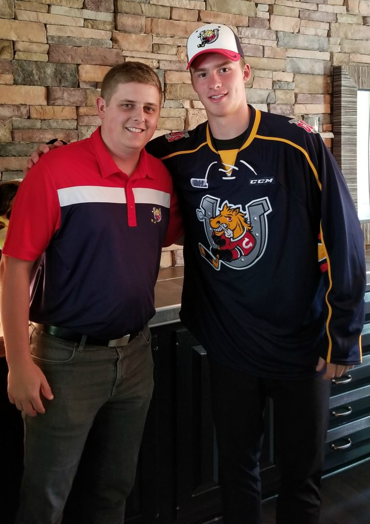 save off 750ba fef63 Barrie Colts Select Andrei Svechnikov #1 in the 2017 CHL ...