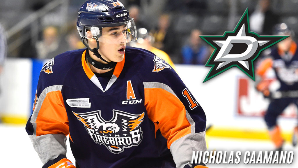 Dallas Stars Sign Nick Caamano To Ato With Ahl Affiliate Texas