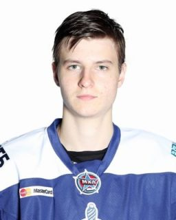 Flint Firebirds 2017 First Round CHL Import Draft Pick Nikita Alexandrov.