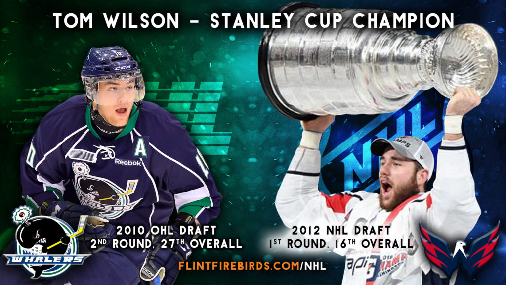 new arrival d9310 de07e Former Whaler Tom Wilson Becomes Stanley Cup Champion ...