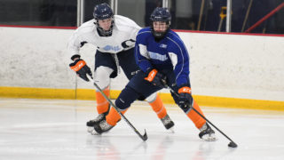 Jacob Winterton at the Firebirds 4th Annual Orientation Camp on April 20, 2018