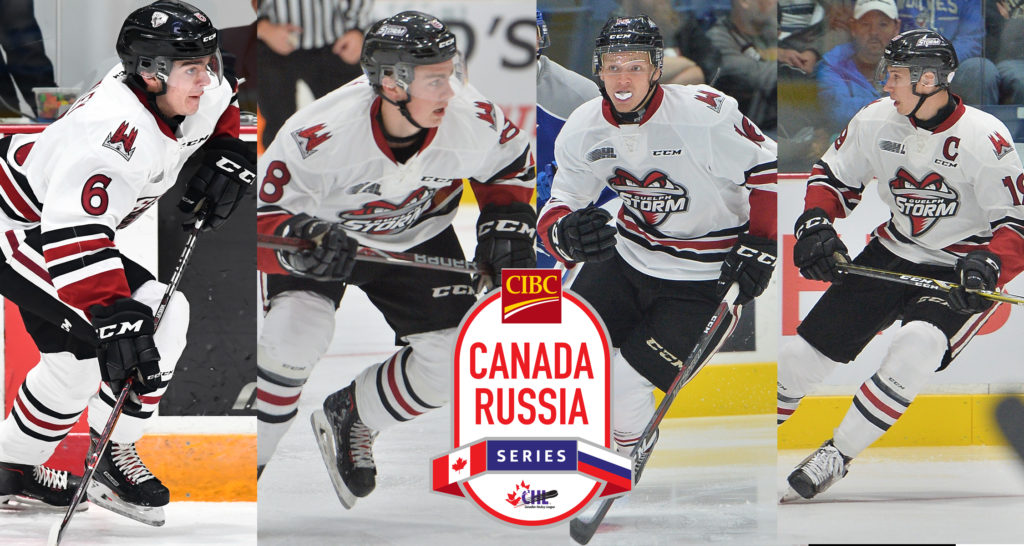 Four Storm players selected to play for Team OHL in the 2018