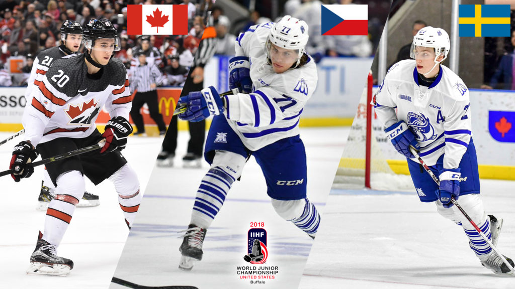 Three Steelheads Named To Preliminary World Juniors Rosters