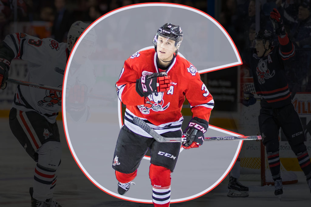 finest selection ddc99 16054 ANNOUNCEMENT | Jones named Captain of 2018-2019 IceDogs ...