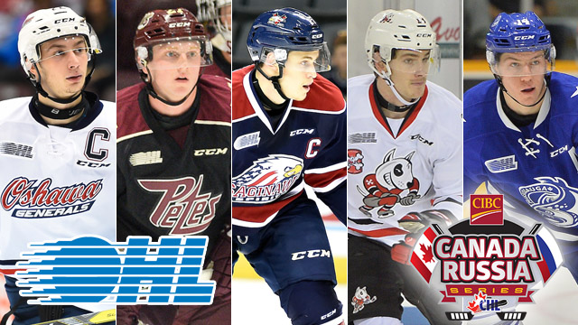 Ohl Captains Announced For 2016 Cibc Canada Russia Series Ontario