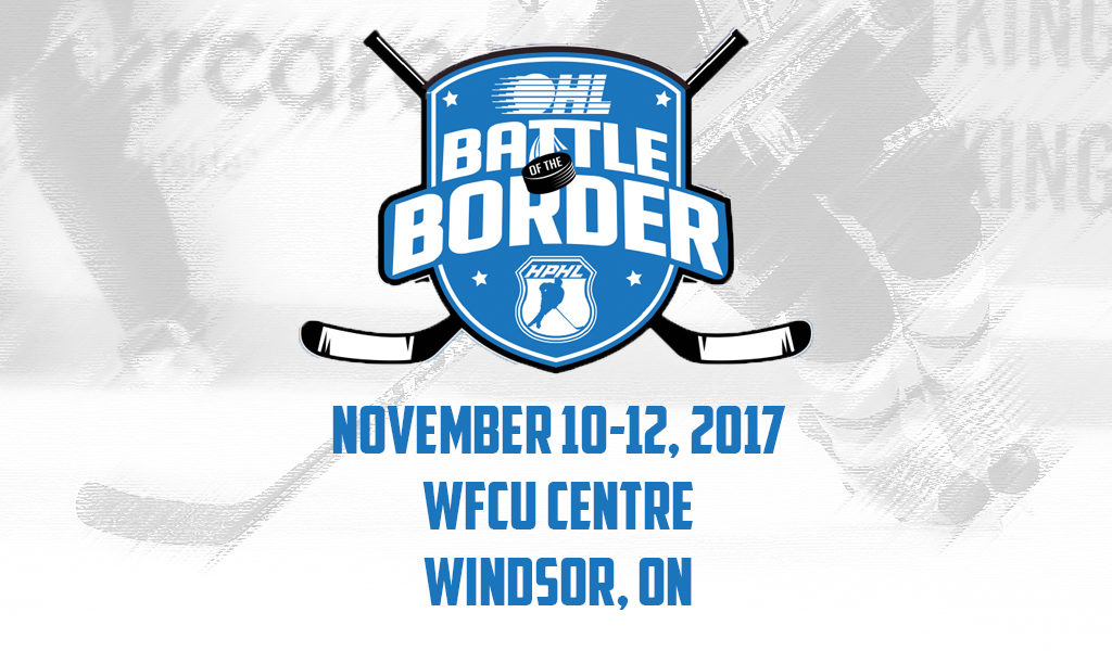 4th Annual OHL/HPHL Battle of the Border Details – Ontario
