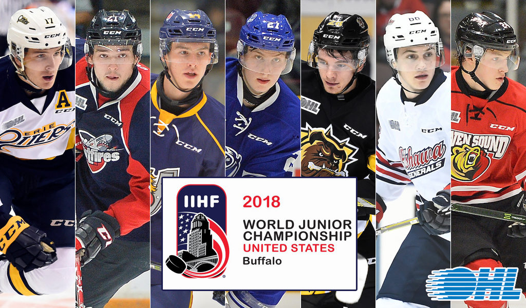 20 Ohl Players Competing At 2018 Iihf World Junior Hockey